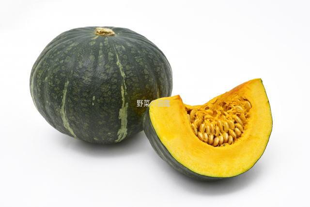 かぼちゃと切ったかぼちゃ